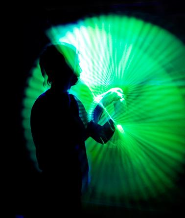 Пои-носки, светящиеся во флюро-свете.  Ткань - эластичный бифлекс.  Максимальная длина в не натянутом состоянии...
