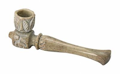 Трубка Carved Stone Shotgun Pipe