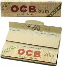 Бумажки OCB King Size Organic Slim+filters