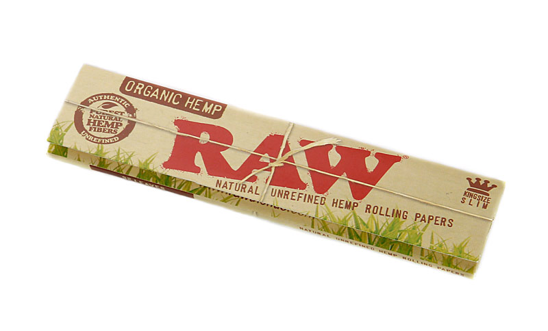 Бумажки RAW Organic Slim KS